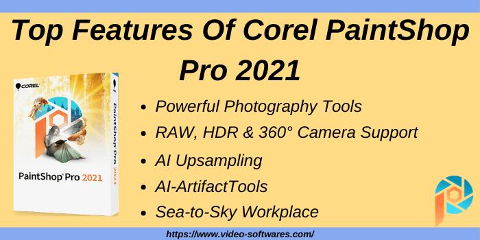 Top Features Of Corel PaintShop Pro 2021