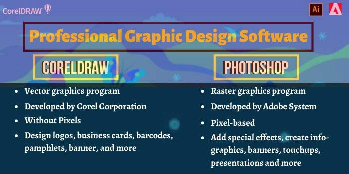 CorelDraw or Photoshop Features
