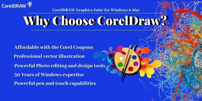 Reasons to choose CorelDRAW