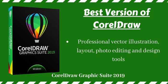 Best versions of CorelDRAW
