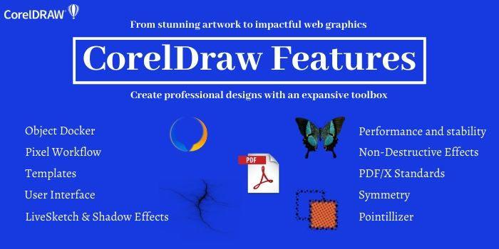 CorelDRAW Features