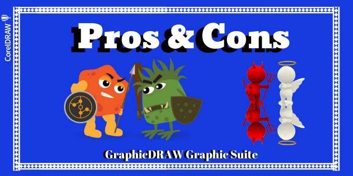 Pros & Cons Of CorelDRAW