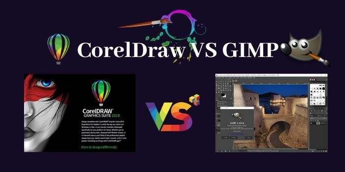 CorelDraw vs GIMP