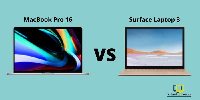 MacBook Pro (16inch) vs Surface Laptop 3 (15inch)