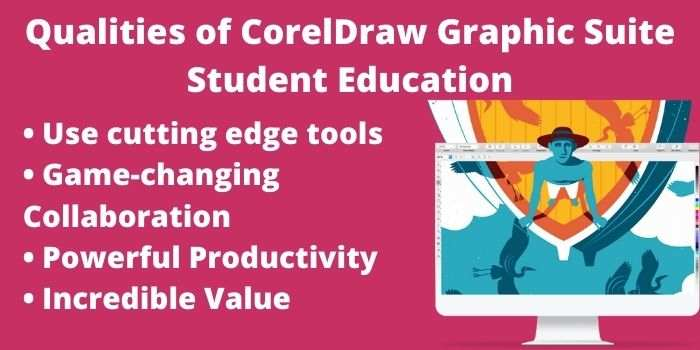 CorelDraw Graphic Suite Student Education Qualities