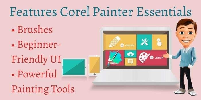 Features Corel Painter Essential