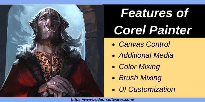 Features of Corel Painter 2021