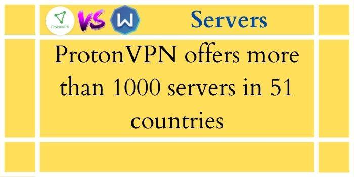 ProtonVPN Vs Windscribe Servers