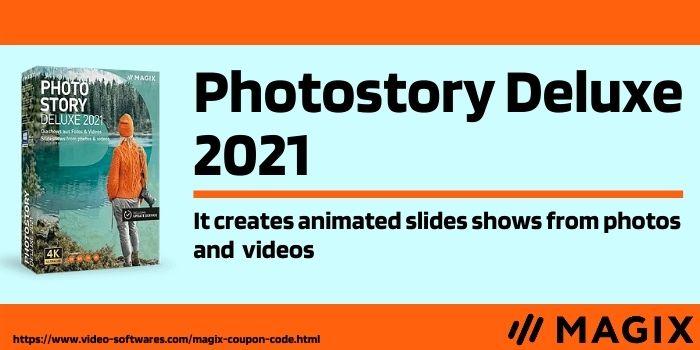 Photostory Deluxe 2021