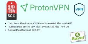ProtonVPN Black Friday Sale