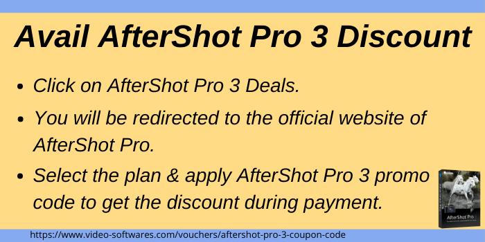 AfterShot Pro 3 Promo Code