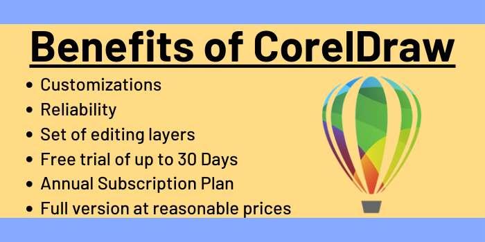 Benefits of CorelDraw
