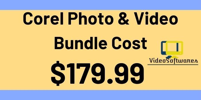 Corel Photo & Video Bundle Cost
