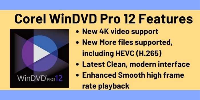Corel WinDVD Pro 12 Features