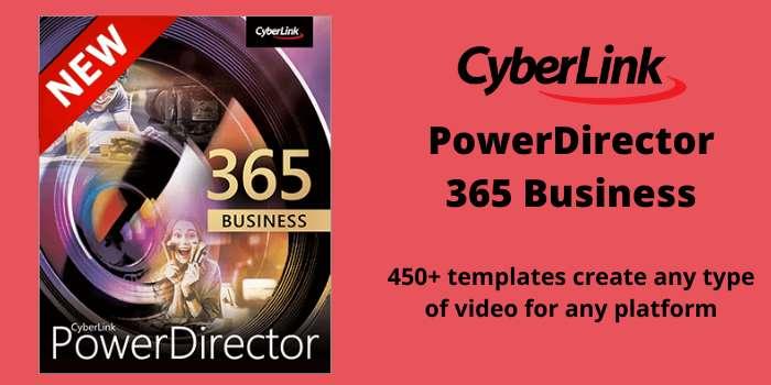 CyberLink PowerDirector 365 Business 365 Business