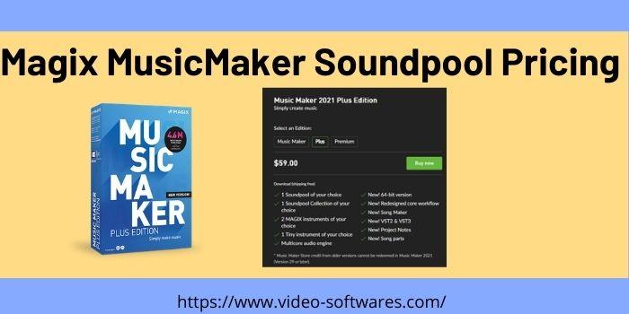 Magix MusicMaker Soundpool Pricing