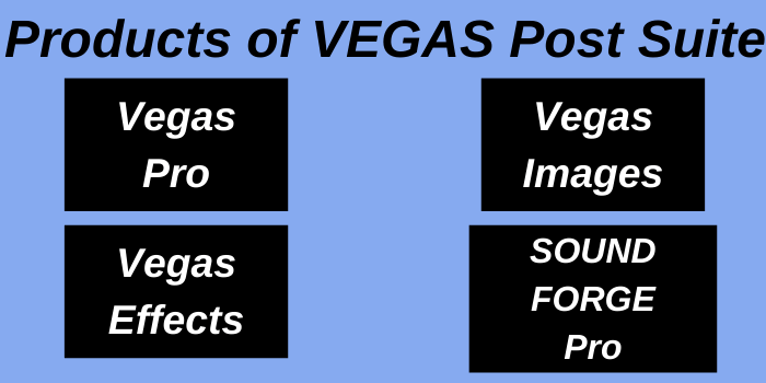Products of Vegas Post Suite