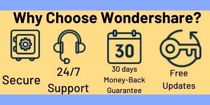 Why Choose Wondershare