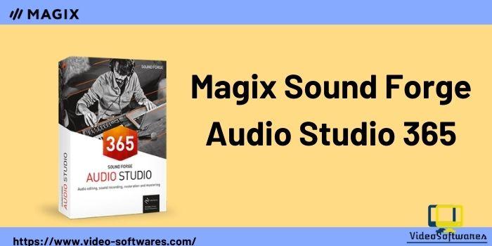 Audio Studio 365