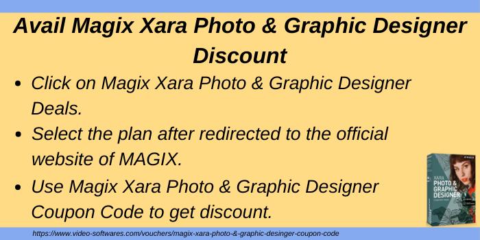 Avail Magix Xara Photo & Graphics Designer Discount
