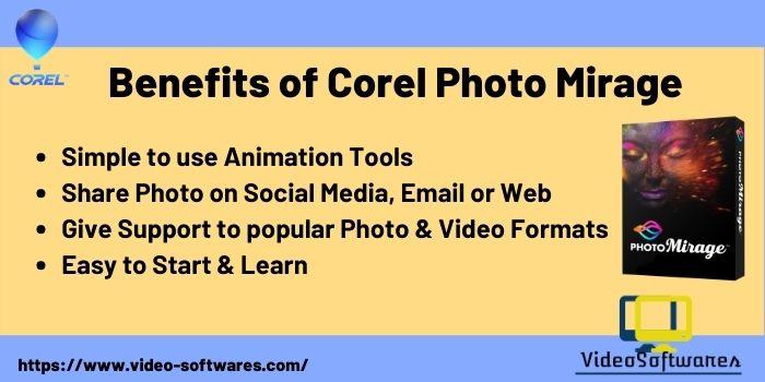 Benefits of Photomirage