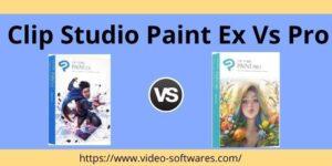 Read more about the article Clip Studio Paint EX vs Pro 2021 – Comparison Pro and Ex