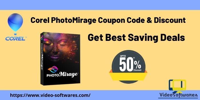 Corel PhotoMirage Coupon Code & Discount 2021