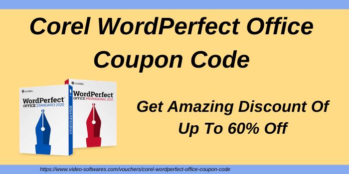 Corel WordPerfect Office Coupon Code