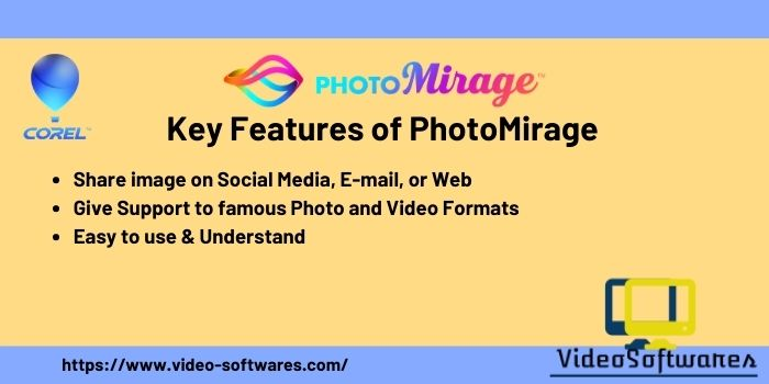 Features of PhotoMirage