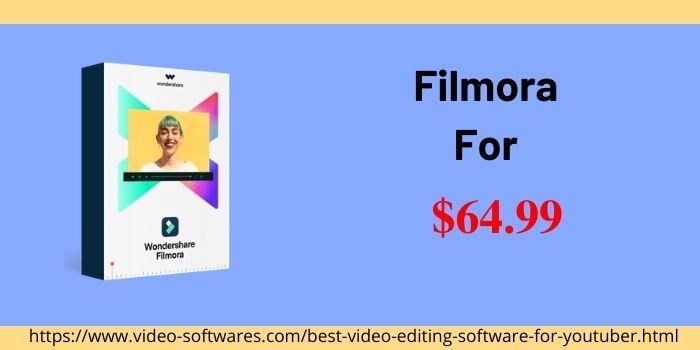 Filmora Price