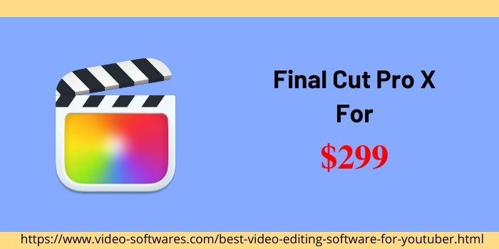 Final Cut Pro X Price