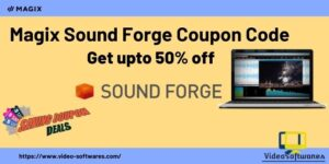 Magix Sound Forge Coupon Code