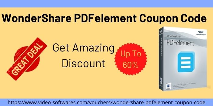 WonderShare PDFelement Coupon Code