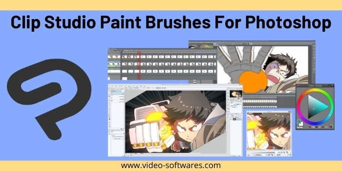Clip Studio Paint Brushes For Photoshop 2021