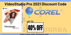 VideoStudio Pro 2021 Coupon Code