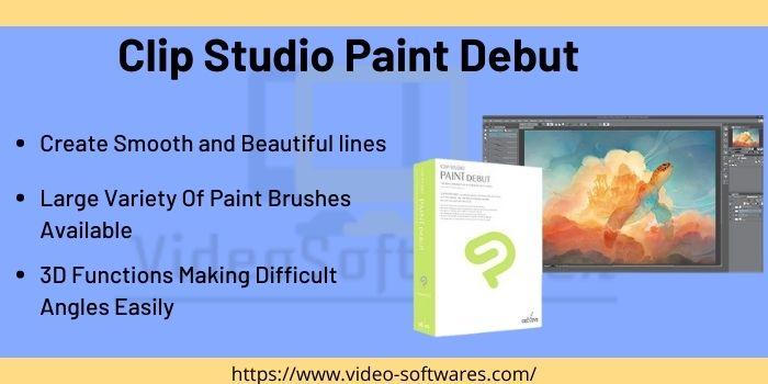 Clip Studio Paint Debut