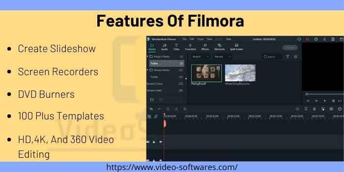Features Of Filmora
