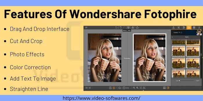 Features Of Wondershare Fotophire