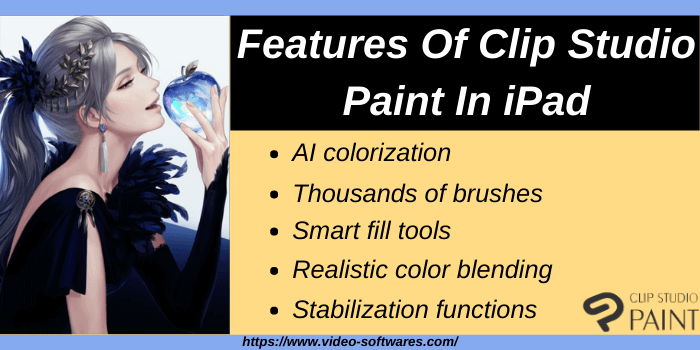 Features of Clip Studio Paint