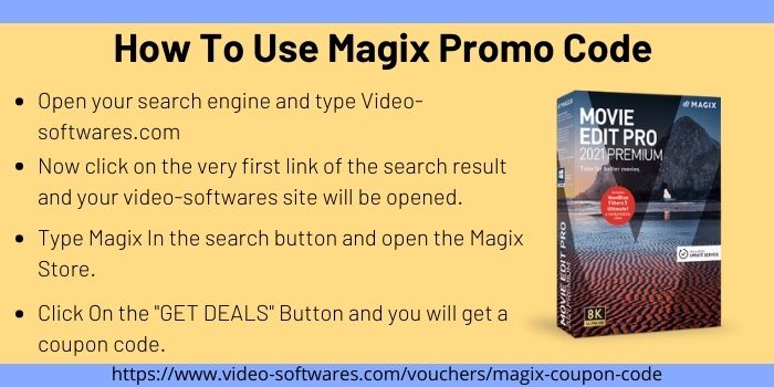How To Use Magix Promo Code