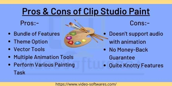 Pros & Cons Of Clip Studio Paint