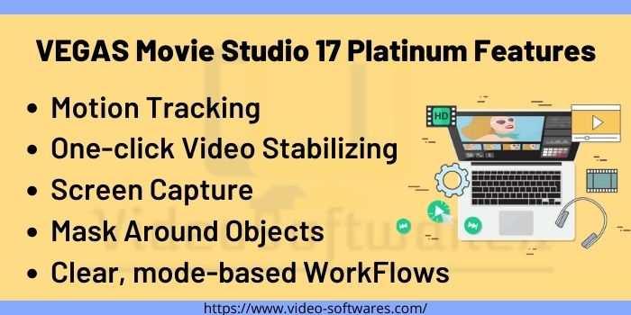 VEGAS Movie Studio 17 Platinum Features