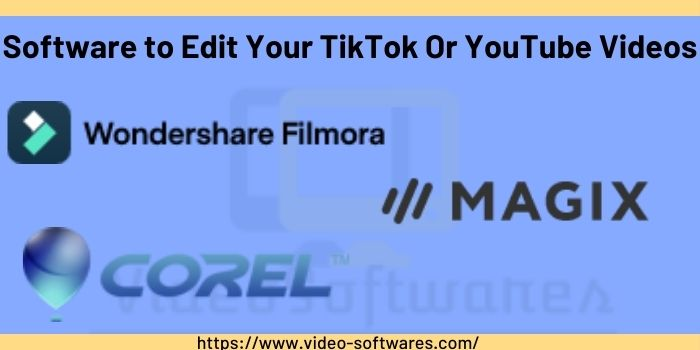 Video editing software for youtube and TikTok