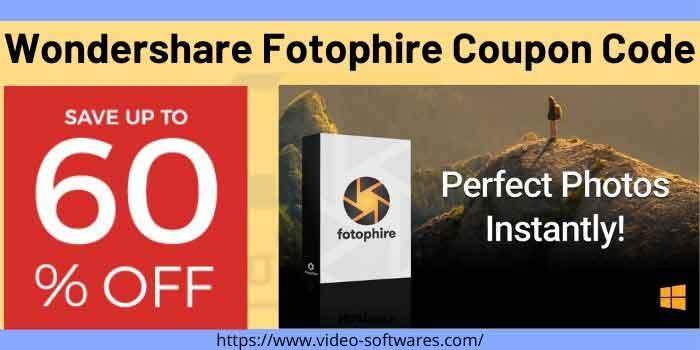 Wondershare Fotophire Coupon Code