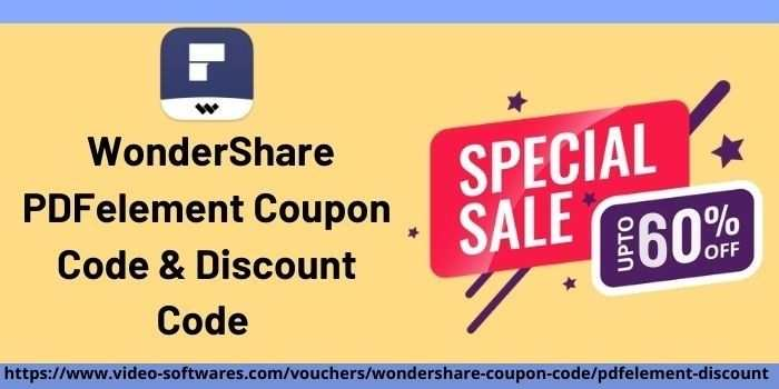 WonderShare PDFelement Coupon Code and Discount Code