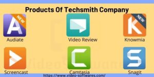 Products Of Techsmith Company