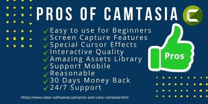 Pros Of Camtasia