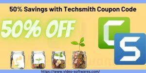 50% Savings with Techsmith Coupon Code