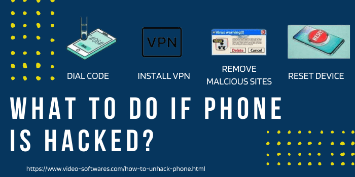 what to do if phone is hacked