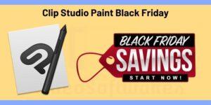 Clip Studio Paint Black Friday